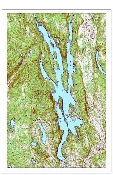 Candlewood Lake Depth Chart
